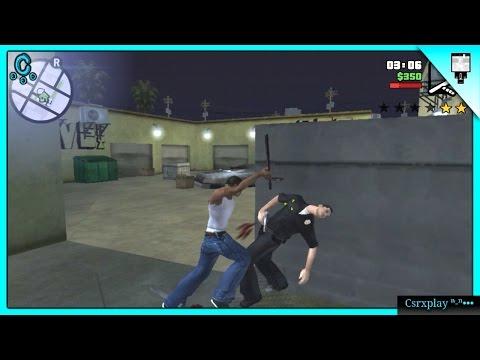 Te quiebro señor policía / GTA San Andreas Gameplay Español Android