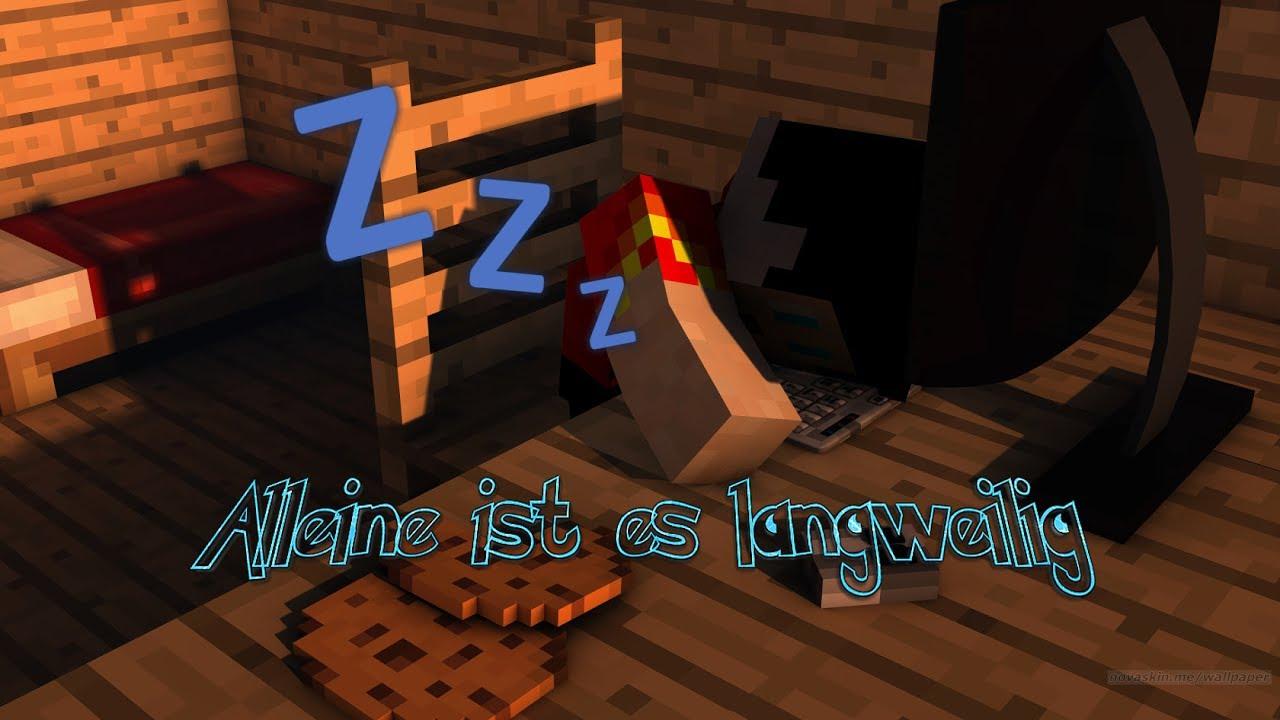 Minecraft Bedwars HAB EIN NEUES INTROICH KANN NICH ALLEINE - Minecraft alleine spielen