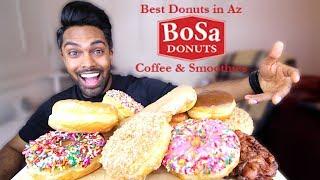 mukbang donuts