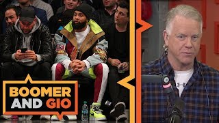ODELL BECKHAM JR. tweets to the Rams | Boomer and Gio