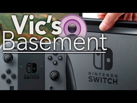 Switch Talk with HappyConsoleGamer - Vic's Basement - Electric Playground