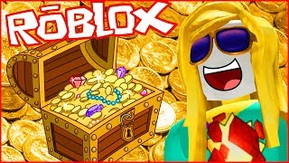 Looking for treasures on Roblox!