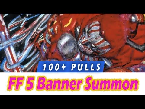 17 pulls summon for lightning ffbe global funnycat tv