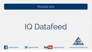 Den Kursdatenfeed von IQFeed mit AgenaTrader verbinden (Connection Guide)