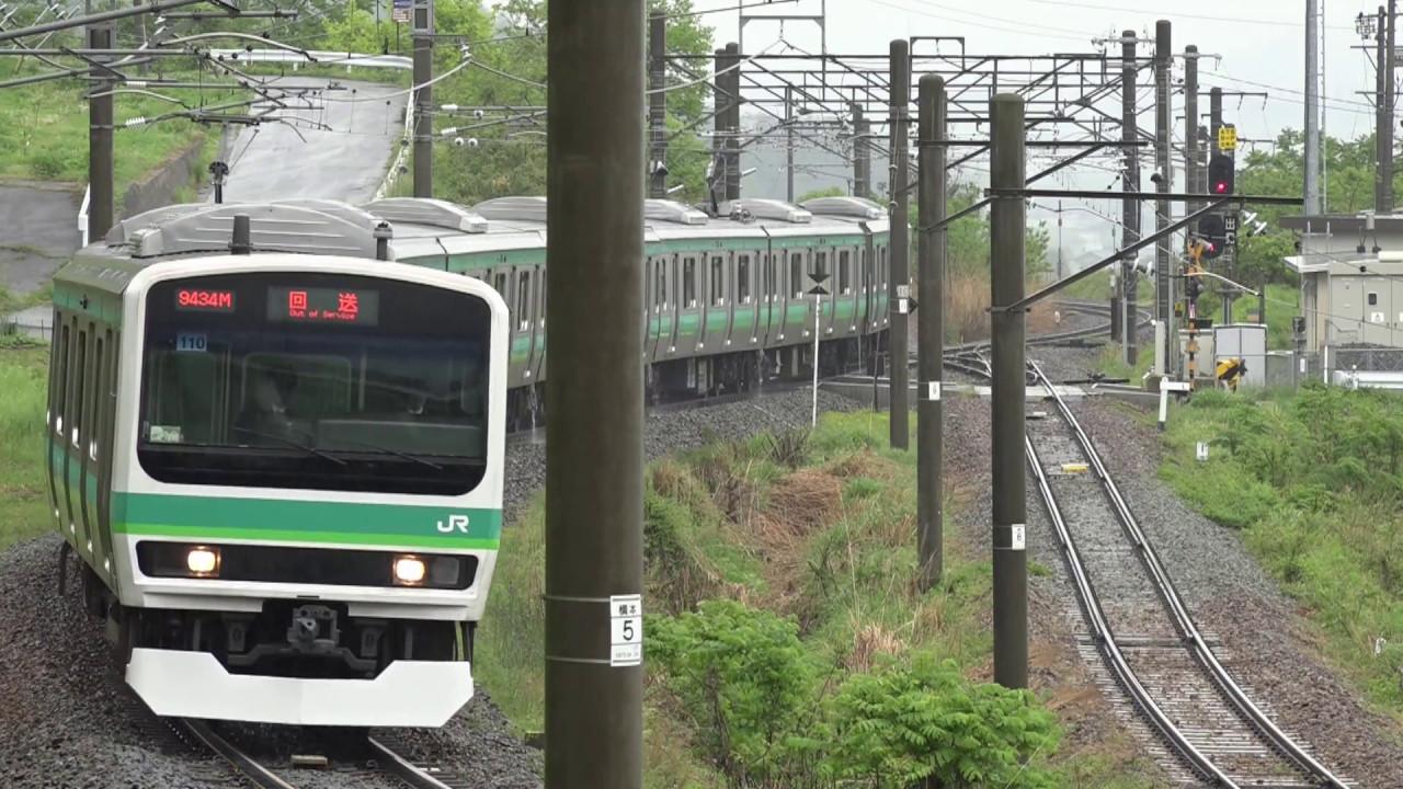 桑ノ原信号場】~E231系マト110...