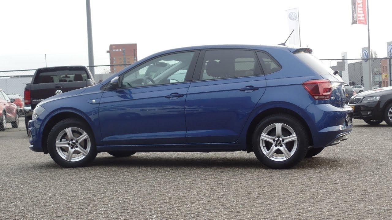 Volkswagen New Polo 2018 Highline Reef Blue Metallic Inside Walkaround