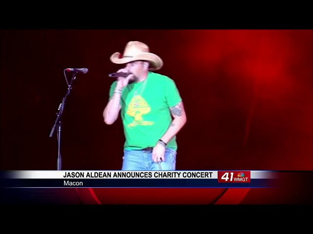 Benefit concert in Macon featuring Jason Aldean set for September