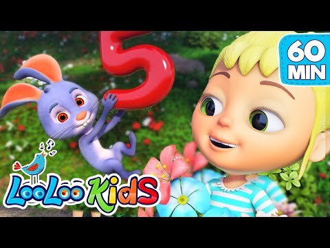 number-song---nursery-rhymes-for-children-|-looloo-kids