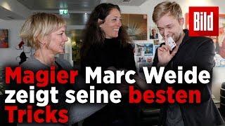 Meister-Magier Marc Weide zeigt BILD seine besten Zaubertricks