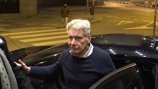 Harrison Ford disfruta de la noche madrileña en plenas fiestas