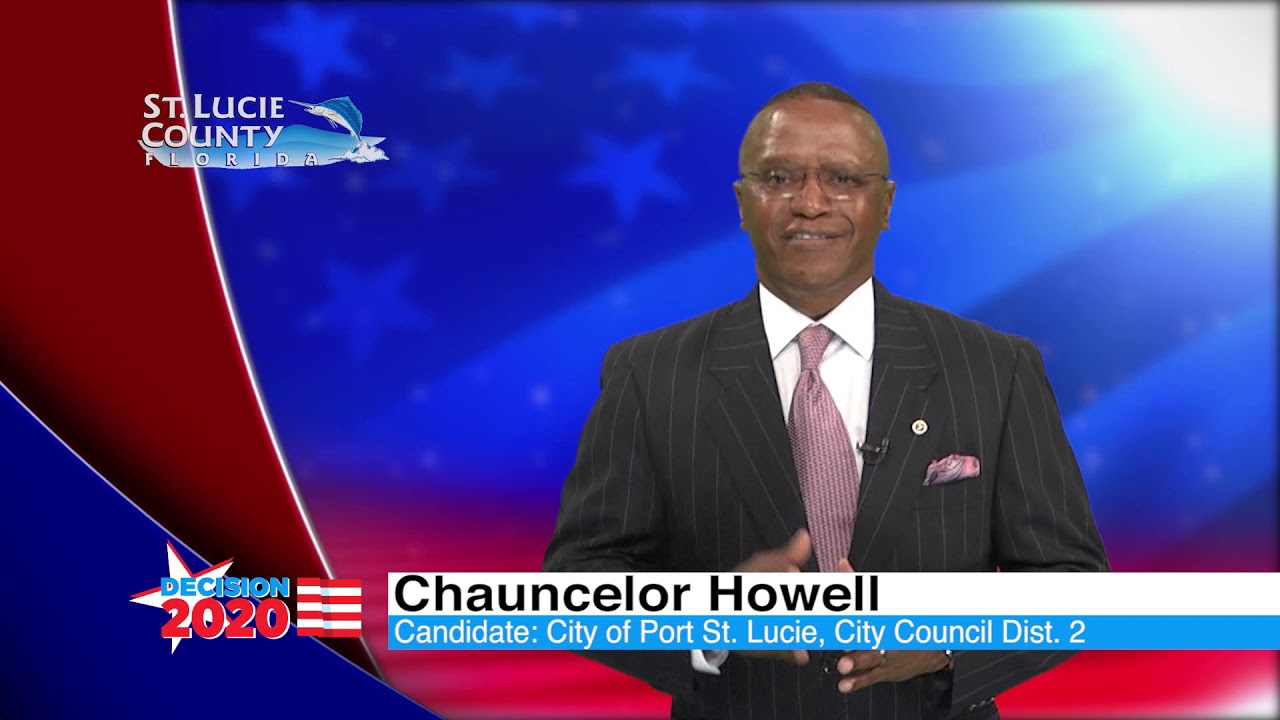 Home Chauncelor For Port St Lucie City Council District 2