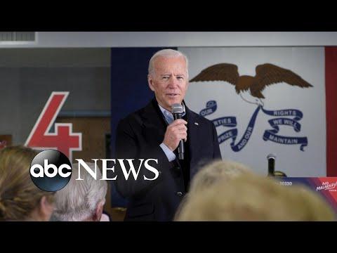 Biden has fiery confrontation with retired farmer