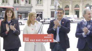 López (PSE) defiende a Eguiguren y al PSOE de insultos