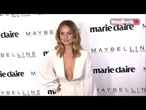 Debby Ryan at Marie Claire 2017 'Fresh Faces' Celebration Red carpet