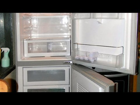 Ремонт холодильника.Лед в морозильной камере