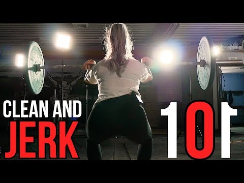 How to Clean and Jerk for Beginners Ft. Madison Rice