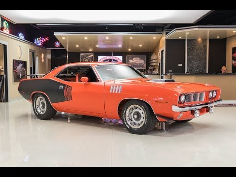 1971 Plymouth Cuda Recreation For Sale