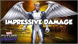 T2 Angel Guide & Gameplay - Marvel Future Fight