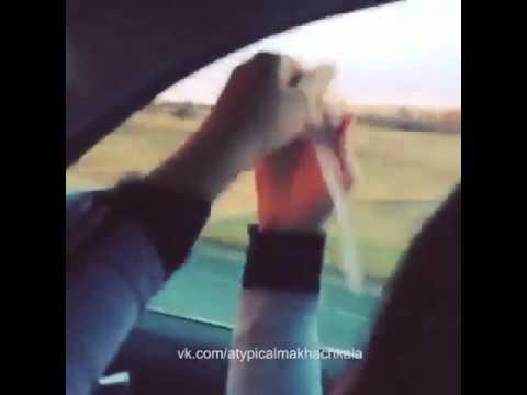 Нетипичная Махачкала Девочкам не скучно в машине