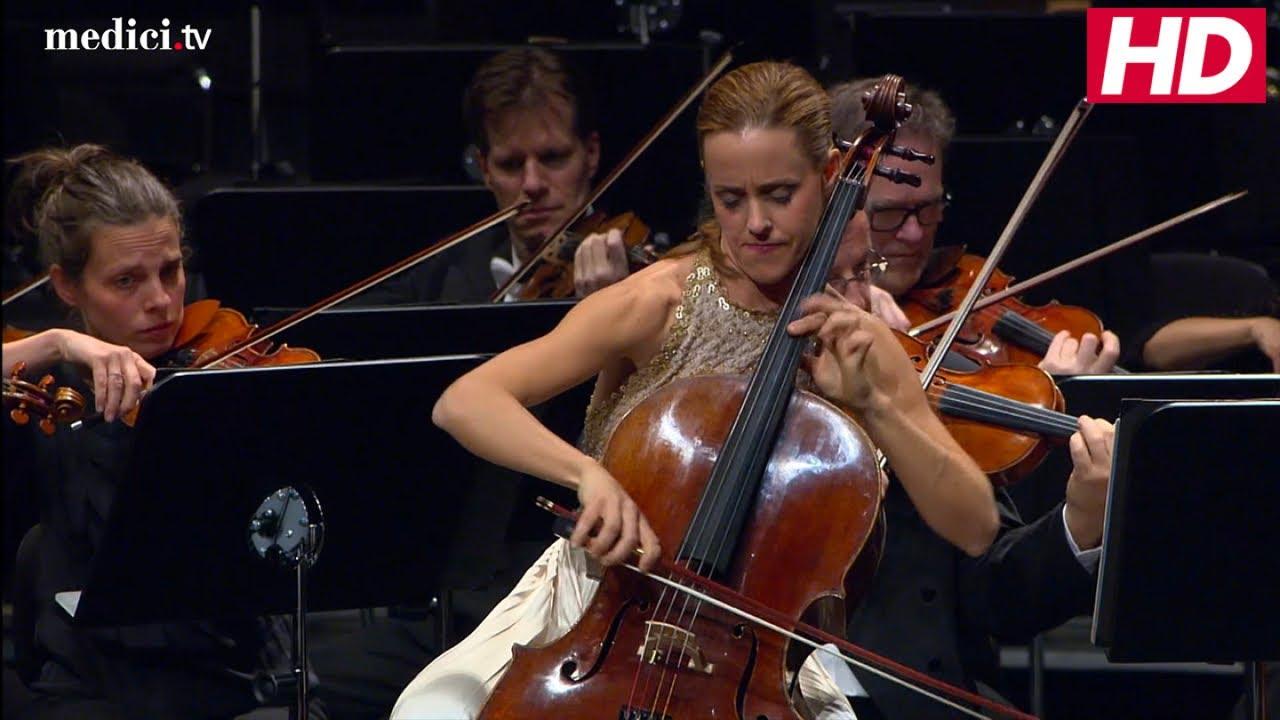 Sol Gabetta With Sir Simon Rattle - Elgar: Cello Concerto