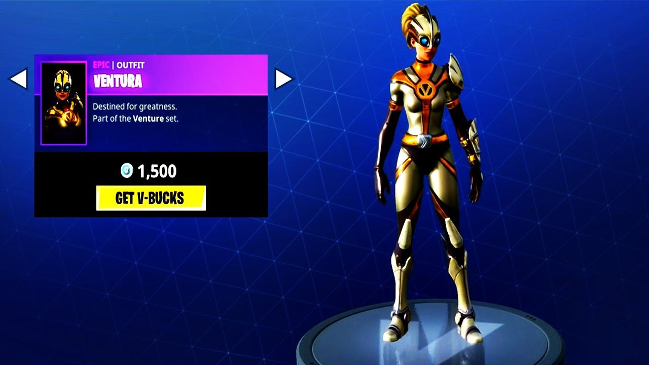 New epic skin ventura fortnite item shop june 7 new - Ventura fortnite ...