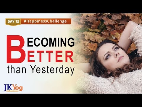 Make Yourself a Better Person   Happiness Challenge Day 13   Swami Mukundananda