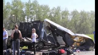 """На трассе """"Пенза-Тамбов"""" произошла авария с участием микроавтобуса из Чувашии"""