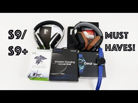 Galaxy S9 Must Have Accessories (Links in Description!)