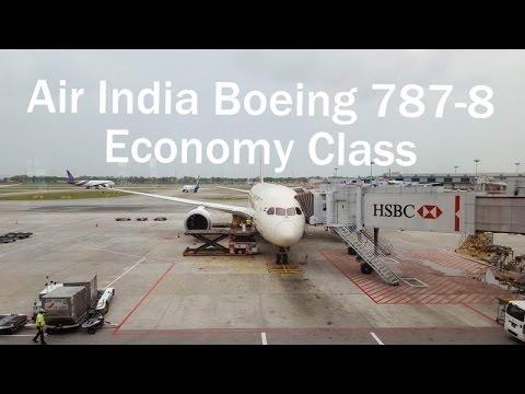 Air India Economy Class - AI381 - Singapore to Delhi - B787