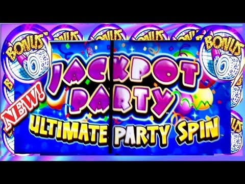 BIG WIN! $$$ JACKPOT PARTY ULTIMATE SPIN★BIRTHDAY BLAST★WITH BERNADETTE★FOUR WINDS CASINO