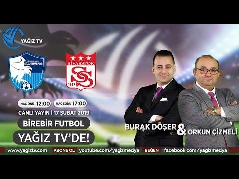 Birebir Futbol   BB Erzurumspor - DG Sivasspor - Maç Sonu