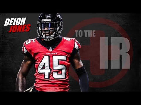 watch 5f5c3 5b27b Atlanta Falcons linebacker Deion Jones to IR | PFF