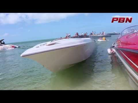Florida Powerboat Club Boca Grande Raft Up Key West 2013 - Part One