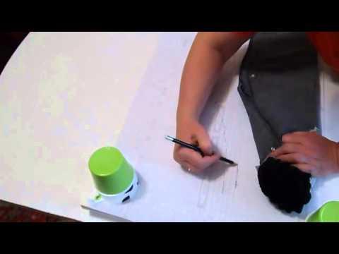 видео: как сделать выкройку по готовой вещи (брюки)