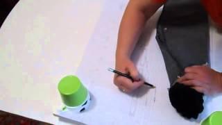 как сделать выкройку по готовой вещи (брюки)