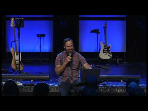 Aeron Brown Speaking At Centerpoint School Of Worship