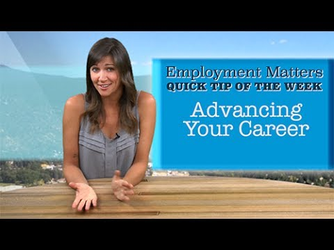 Employment Matters: Building Your Career