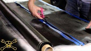 Carbon Fiber Quick Tip   Making Carbon Fiber