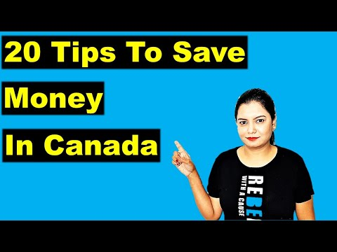 20 Ways To Save Money In Canada 🤑 | Tips & Tricks For New Immigrants | Canada Couple