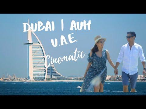Dubai | AUH | U.A.E | Cinematic Video Feat; Grand Mosque, Burj Al Arab, Jumeira Beach, Burj Khalifa.