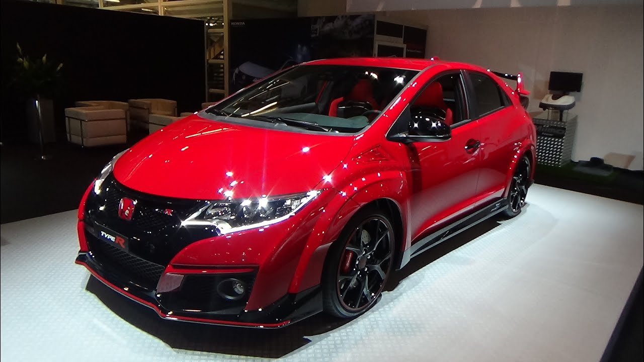 2016 honda civic type r exterior and interior z rich car show 2015 youtube. Black Bedroom Furniture Sets. Home Design Ideas