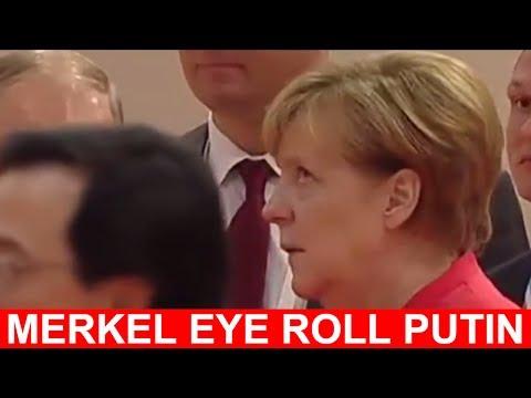 WATCH FULL: Angela Merkel Roll Her Eyes at President Vladimir Putin - Angela Merkel