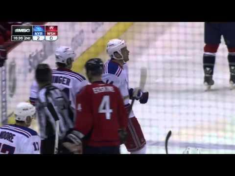 Taylor Pyatt Goal Gm 7 Rangers/Capitals 5/13/2013 MSG Feed
