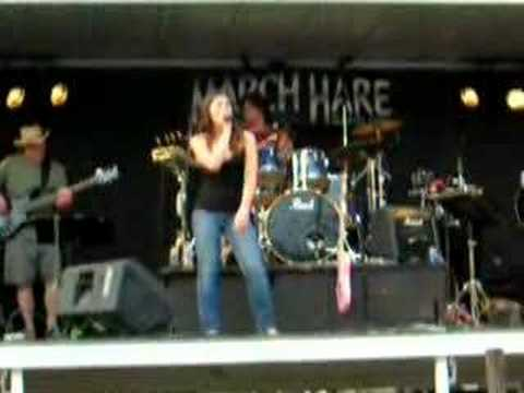 Kadance Singing at Merritt Mountain Music Festival