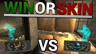 WIN OR SKIN #12 - WALLHACK VS GLOBAL ELITE!