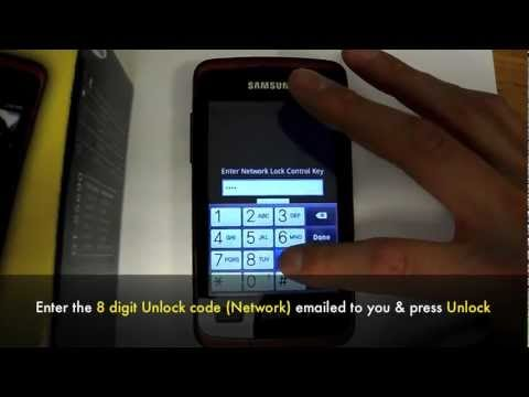 Unlock Samsung Rugby Smart i847 - How to Unlock At&t Rugby Smart SGH-i847 by Unlock Code