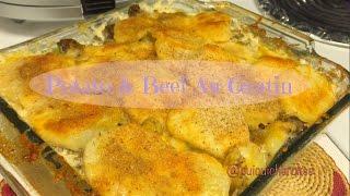 Potato And Beef Au Gratin