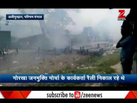Violence hits Darjeeling streets again, rage between police and GJM