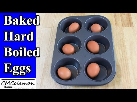 How Hard Boiled Eggs In The Oven