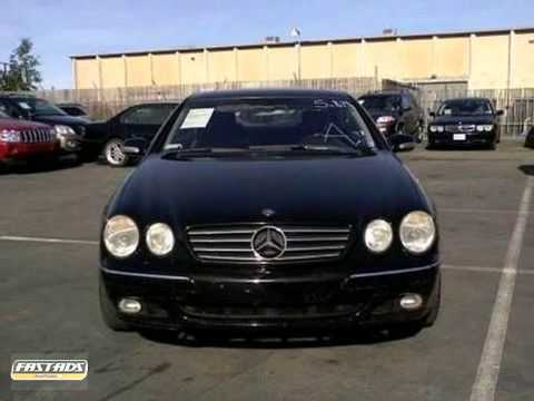 2002 Mercedes-Benz CL500 Dublin, CA #J3876 - YouTube